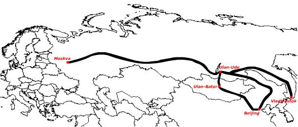 transsibiriska järnvägen karta Transsibiriska järnvägen :: information transsibiriska järnvägen karta